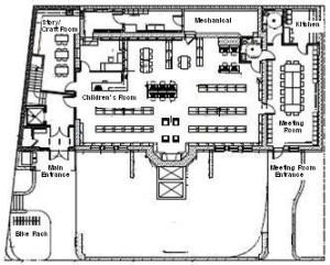 New Shute Lower Level Floor Plan