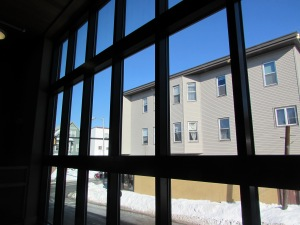 North window from laptop bar